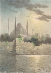 mosquée du sultan ahmed à constantinople by onnik der azarian
