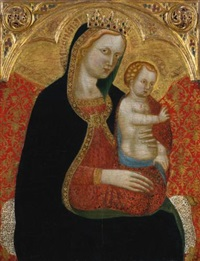 madonna and child by cecco di pietro