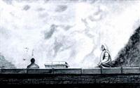 tapia y estatua by joaquin pacheco reina