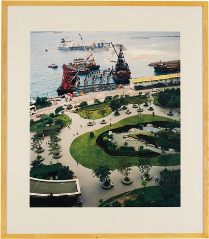hong kong, grand hyatt park by andreas gursky