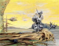 paysage fantastique by jean janin