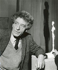 alberto giacometti (2 works) by etienne hubert