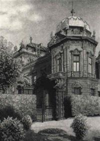das obere belvedere in wien by karl goth