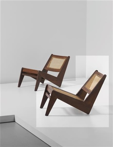 rare low chair model no pj si 59 a designed for the general hospital entrance and private residences chandigarh by pierre jeanneret