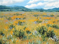 july meadow by robert edward wood
