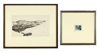 valley of savery, wyoming; plumed serpent (2 works) by john taylor arms