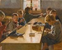 the boys workhouse, helsinki by albert edelfelt