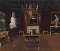 blick in ein elegantes interieur by jakob koganowsky
