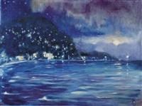 nice, lumières de nuit by edmond verstraeten