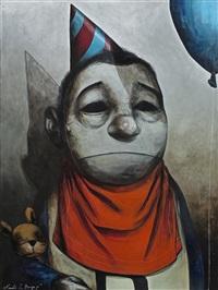 birthday boy (+ another, sculpture; 2 works) by renato barja jr