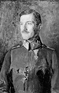 porträt eines kaiserschützenmajors by john quincy adams