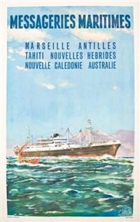 messageries maritimes by jacques des gachons
