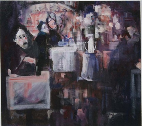 cafe interior by george dunne