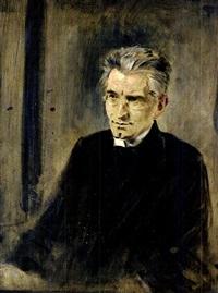 porträt pater rupert mayer by leo samberger