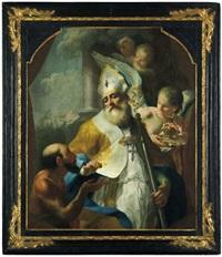 der heilige eligius by josef ignaz mildorfer