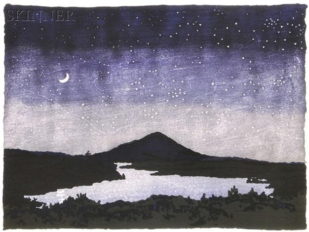 night scene by neil welliver