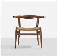 bull horn chair by hans j. wegner