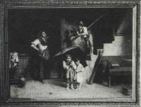 children at play by rodolfo agresti