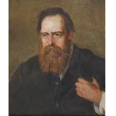 portrait of albert pinkham ryder by julian alden weir
