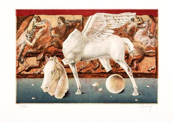 sin título from el caballo en papel by esteban azamar