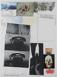 poster for place by robert rauschenberg