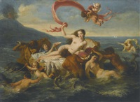 the birth of venus by noël nicolas coypel