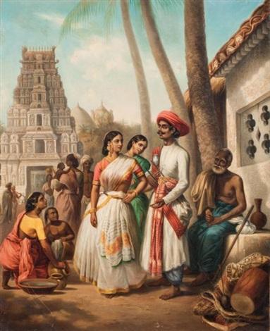 loffrande des jeunes mariés madoura by alexandre marie colin