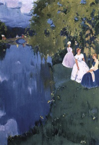 la promenade des dames by vassili vasilievitch sokolov