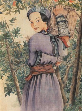 gathering tangerine by pang xunqin
