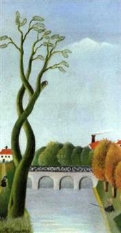 le pêcheur by henri rousseau