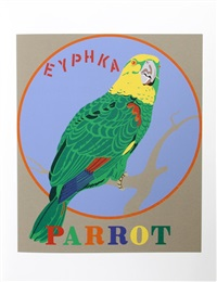 parrot, american dream by robert indiana