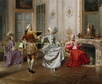 the minuet by françois brunery