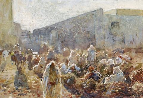 early morning tangier by frederick william jackson