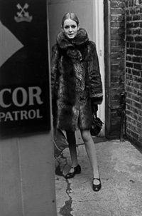 twiggy by lewis morley