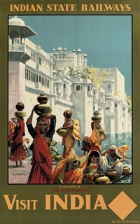 visit india (udaipur) by william spencer bagdatopolous
