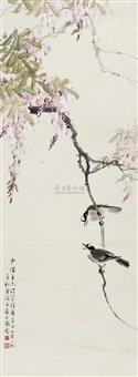 flowers and birds by zhou qianqiu and liang jieying