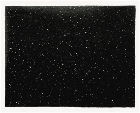 night sky untitled 17 by vija celmins