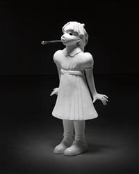 spitting girl by kim simonsson