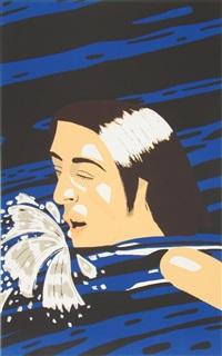 the swimmer by alex katz