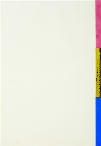 untitled ruler by jasper johns