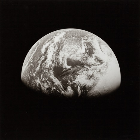 View of Earth taken from Apollo 13 spacecraft during its