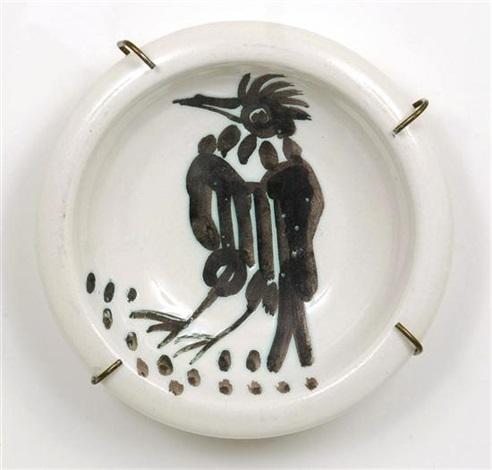 oiseau à la huppe by pablo picasso