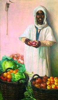 marchard de fruits et légumes by daniel cortes