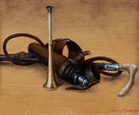 horn, whips and flask by henry koehler