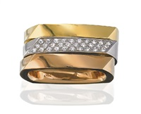 rings (set of 3) by frank gehry