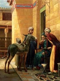 la vente d'une jeune mule by federico bartolini