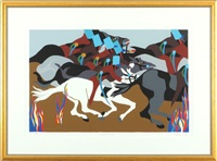 toussaint et by jacob lawrence