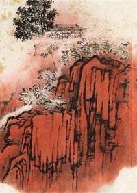 红嵒画稿 by qian songyan