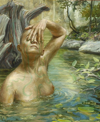 living waters v by frank mulvey