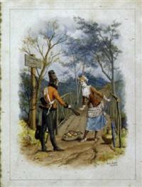 begegnung am feldweg by paul léon jazet